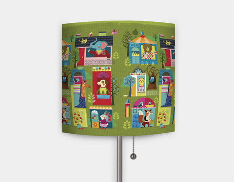 Neighborhood Buddies Lamp by Ellen Giggenbach - Main