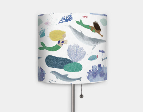 Mermaid Fun Lamp by Katie Rewse - Main