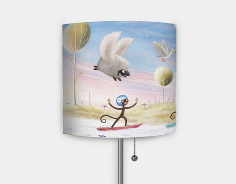 Balloon & Bathtime Ride Lamp by Patrick S Brooks - Main