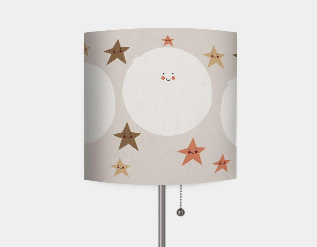 Happy Bunnies and The Stars Lamp by Sue Downing - Main