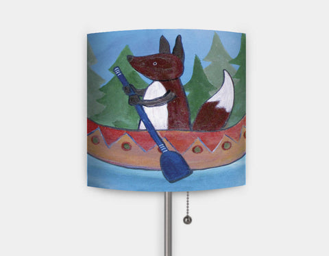 Canoe Adventure Lamp by Andrea Doss - Main