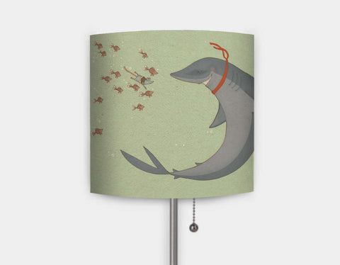 Meeting Finn Lamp by Alexandra Ball - Main