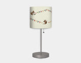 Busy Squirrel Banner Lamp by Paola Zakimi - Secondary