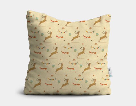 Sunny Fun Throw Pillow by Alexandra Ball - Main