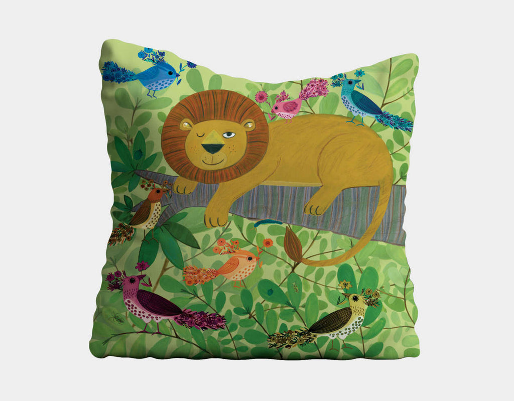 Flying High Throw Pillow by Kay Widdowson - Main