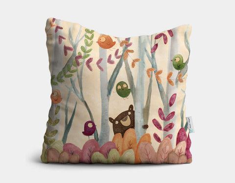 Secret Place Throw Pillow by Aleksandra Szmidt - Main