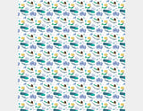 Mermaid Fun Shower Curtain by Katie Rewse - Design