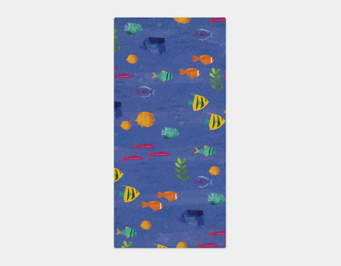 Tropical Fish Bath Towel by Amy Schimler-Safford - Main