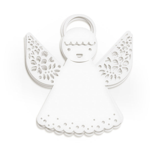 Papercut Angel Garland | White