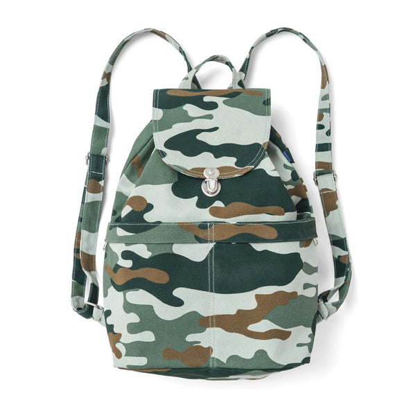 Canvas Backpack | Camo