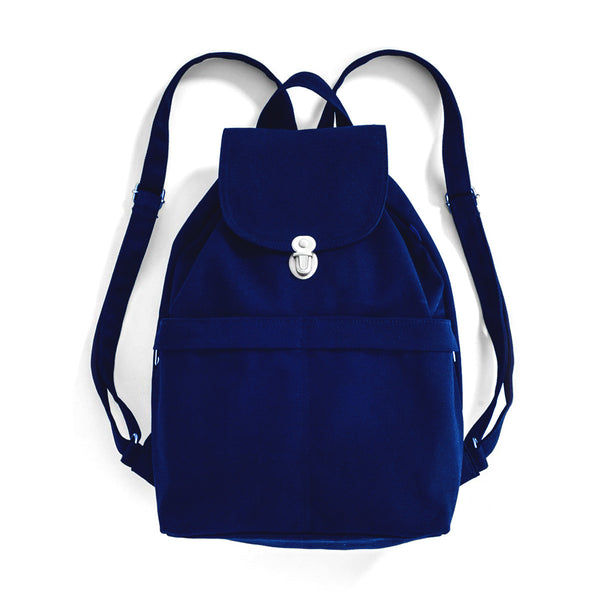 Canvas Backpack | Navy
