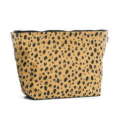 Large Cosmetic Bag | Leopard