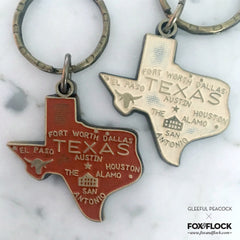 Texas Key Chain