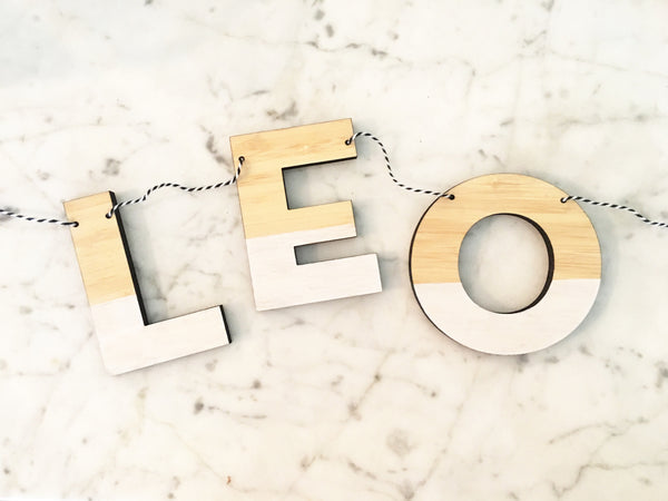 Personalized Nursery Garland