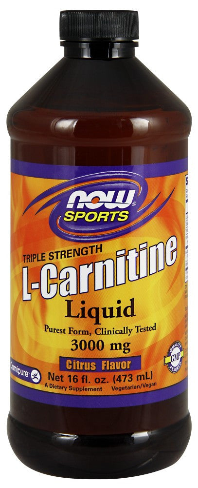 NOW L-Carnitine Liquid 3000 mg – 16 fl. oz.