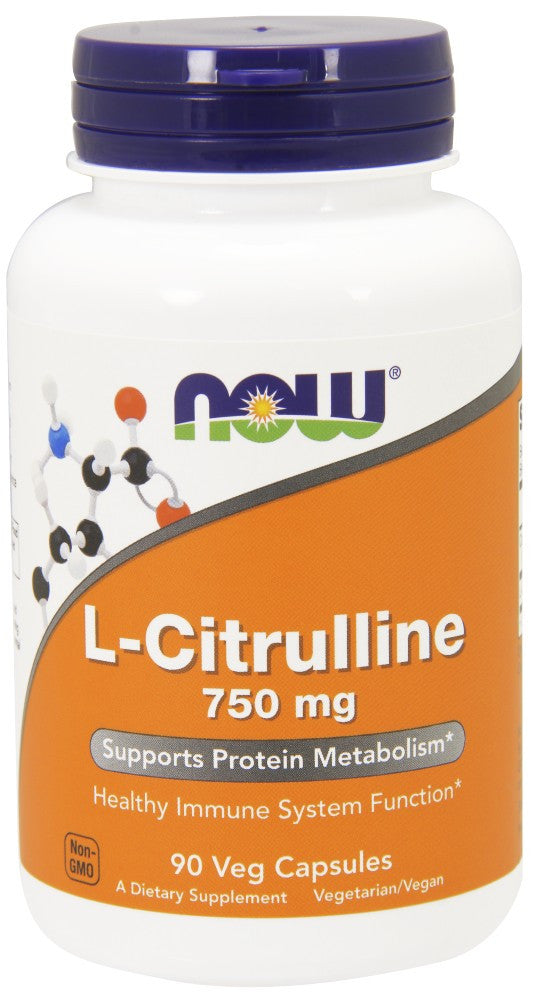 NOW L-Citrulline 750 mg - 90 Capsules