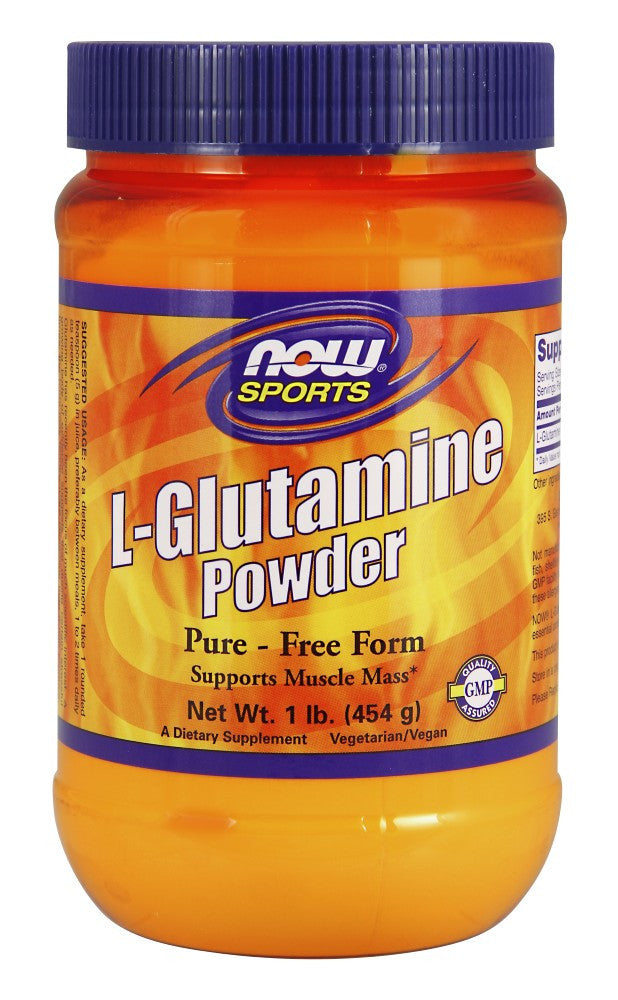 NOW L-Glutamine - 1 lb.