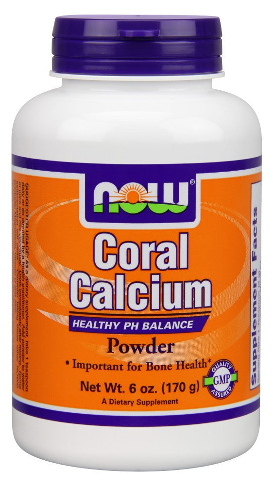 NOW Coral Calcium Powder - 6 oz.