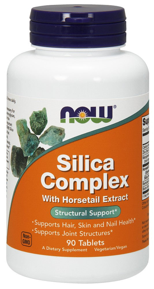 NOW Silica Complex 500 mg - 90 Tablets
