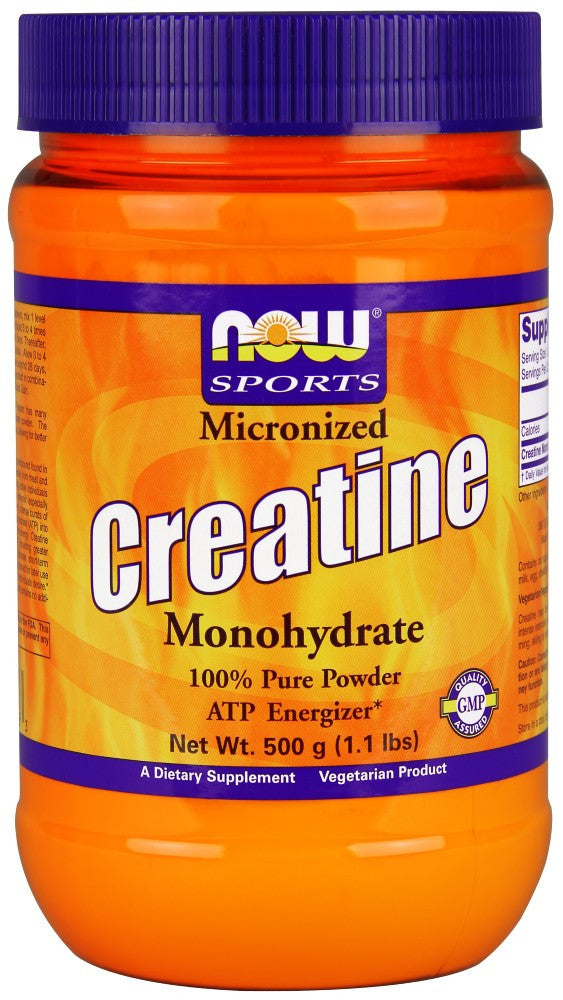 NOW Creatine Micronized Powder 1.1 lbs