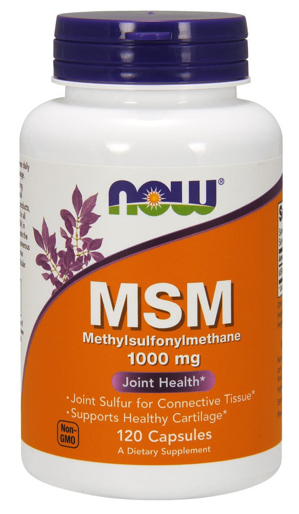 NOW MSM 1000 mg - 120 Capsules