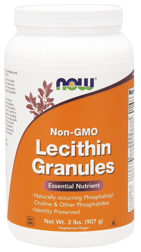 NOW Lecithin Granules Non-GMO - 2 lbs.