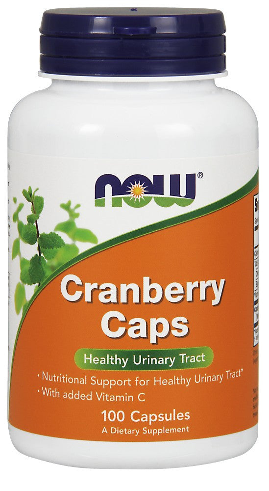 NOW Cranberry Concentrate - 100 Capsules