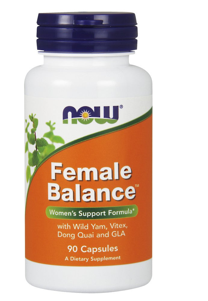 NOW Female Balance - 90 Capsules