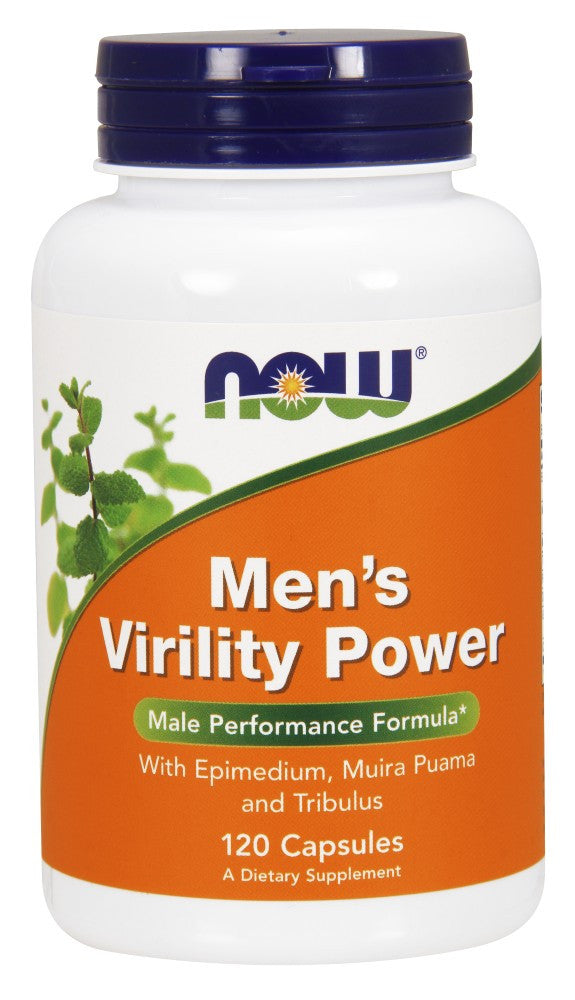 NOW Men's Virility Power - 120 Capsules