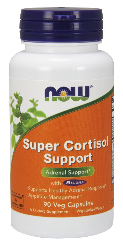 NOW Super Cortisol Support with Relora - 90 Vegetarian Capsules