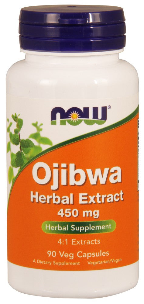 NOW Ojibwa Herbal Extract 450 mg - 90 Vegetarian Capsules