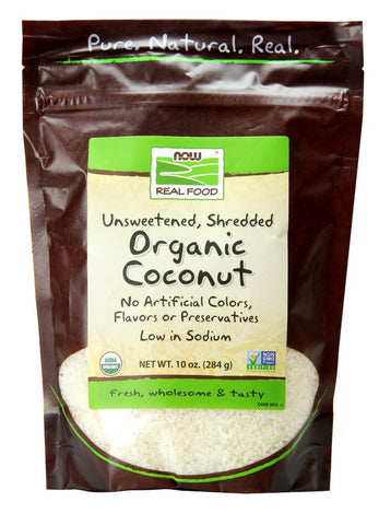 NOW (Coconut Certified Organic Dessicated)