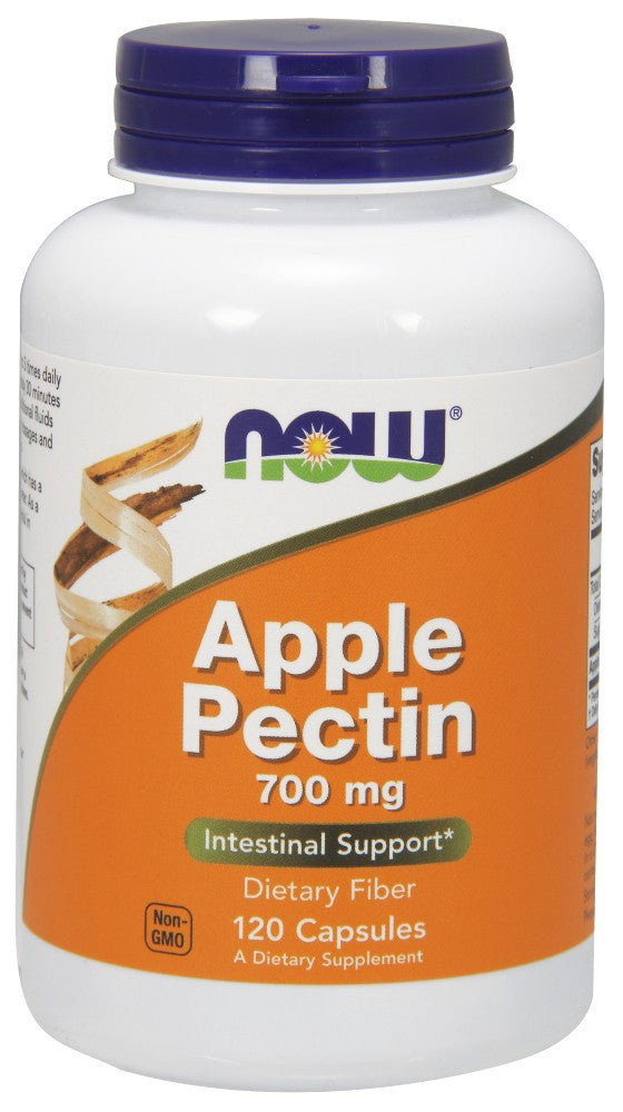 NOW Apple Pectin 700 mg - 120 Capsules