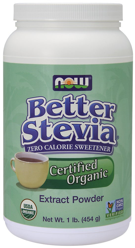 NOW BetterStevia Extract Powder - 1 lb.
