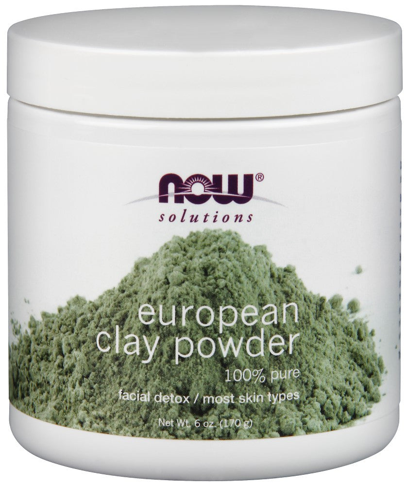 NOW European Clay Powder - 6 oz.