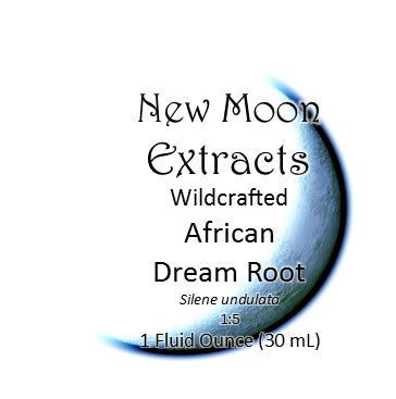 African Dream Root Tincture Wildcrafted (Silene undulata) New Moon Extracts