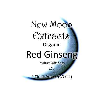 Ginseng, Red/Korean Tincture (Organic)