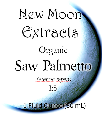 Saw Palmetto Tincture (Organic)