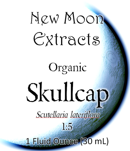 Skullcap Tincture (Dried herb, Organic)