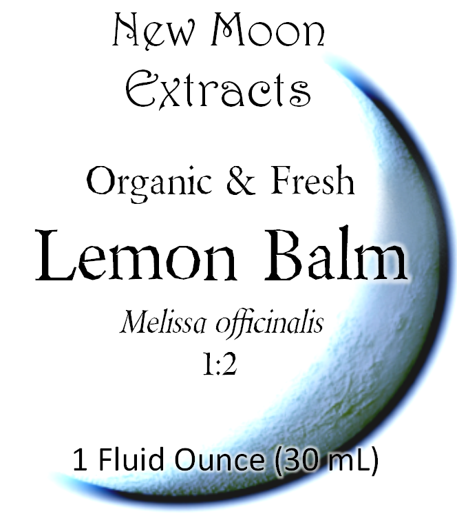Lemon Balm Tincture (Organic, Fresh)