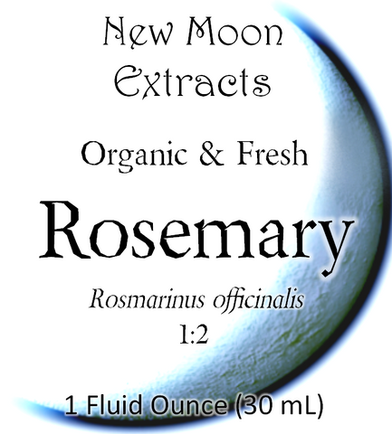 Rosemary Tincture (Organic, Fresh)