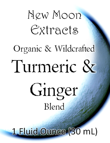 Turmeric & Ginger Tincture Blend (Organic)