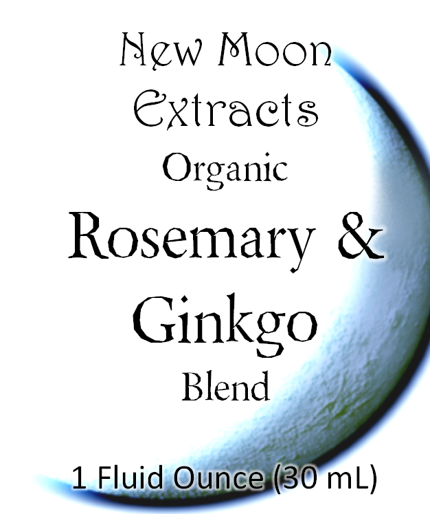 Rosemary & Ginkgo Tincture Blend (Organic)