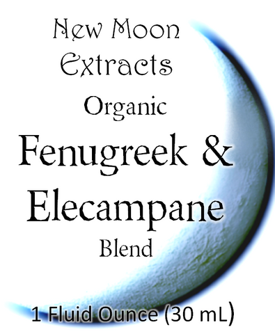 Fenugreek & Elecampane Tincture Blend (Organic)