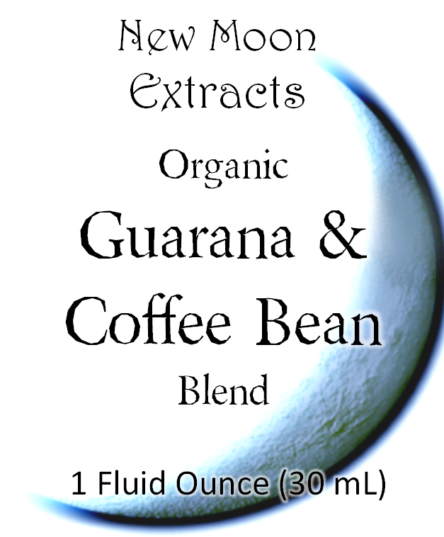 Guarana & Coffee Bean Tincture Blend (Organic)