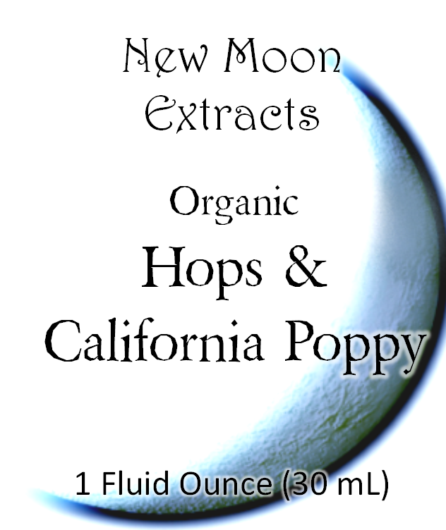 Hops & California Poppy Tincture Blend (Organic)