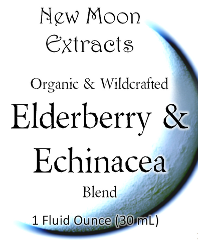 Elderberry & Echinacea Tincture Blend (Organic)