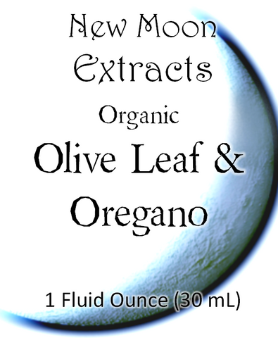 Olive Leaf & Oregano Tincture Blend (Organic)