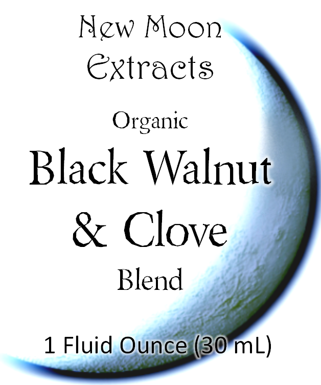 Black Walnut & Clove Tincture Blend (Organic)