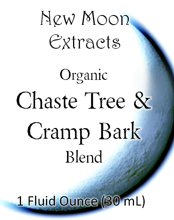 Chaste Tree & Cramp Bark Tincture Blend (Organic)